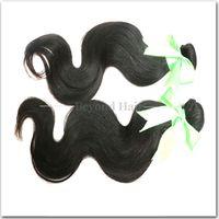 Wholesale 5a Grade Peruvian - 5A Grade Virgin Peruvian Body Wave Human Hair Weave 8-30 inch Peruvian Human Hair Weave