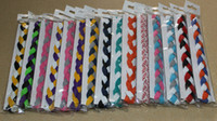 Wholesale Cheap Hair Fabric - 2015 wholesale cheap 3-rope braided nylon stretch sports hair headband for women&girls