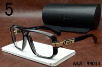 Wholesale Cheap Brand Eyeglasses - Legends Cazals 99014 Sunglasses Black Frame Clear Lenses Polarized Glasses Famous Brand Cheap Cazals Eyewear Luxury Vintage Eyeglasses