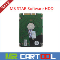 Wholesale Mb Star C4 Connect - 2015.7 Version MB Star C3 C4 software HDD SD Connect Compact C4 Software 500GB HDD for DELL D630  External Format