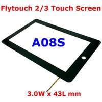 "Wholesale Touch Screen Replacement For Flytouch - Wholesale-10.2"" 10.2 Inch Replacement for FlyTouch 2 3 4 5 6 7 8 A08S 3W x 43L mm Touch Screen Digitizer"
