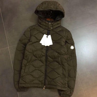 Wholesale Diamond Lattice Jacket - 2017 Fashion Winter Classic Down Jacket Diamond Lattice Men's Warm Mon Thomas Hooded Discount Luxury Brand Jackets For Men Coats Hot Sale