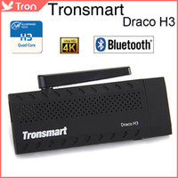 Tronsmart Draco H3 4K H.265 TV Dongle Mini PC Android TV Box Allwinner H3 Quad Core RAM 1G 8G ROM HDMI BT4.0 OTA Android 4.4
