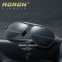 Mens Brand Polarized Lens Sunglasses para hombres y mujeres Designer Aviator Sun Glasses Luxury Sunglass Mirror European Wayfarer Eyewear