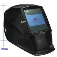 Wholesale Order Welding Helmet - 4 Arc sensor big sreen Solar LI battery auto darkening TIG MIG MMA MAG electric welding mask helmets welder cap order<$18no track