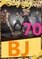 Wholesale Bj Video - on Free Shipping 2015.1 January Q1 New Routine BJ 70 Aerobics Fitness Exercise BJ70 Video DVD + Music CD