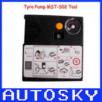 Wholesale Tyre Pump For Car - Car Tyre Pump MST-S02 time limit promotional high quality MST S02 3 year Warranty