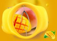 suministros de vegetales al por mayor-Nuevo Práctico Divisores de Mango Frutas Vegetales Herramienta Melocotón Corers Pelador Trituradora Cortadora Cortadora de Cocina Accesorios de Gadget Suministros Productos