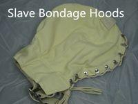 Wholesale Bondage Gear Hoods - BDSM Bondage Hood Canvas Slave Head Hoods Trainer Gear Fetish Adult Game Sex Toys for Her HM-HD1034