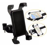 держатель стойки оптовых-Велосипед держатель черный чехол для мобильного телефона подставка для путешествия универсальный аксессуар пластиковая поддержка с вращением на 360 градусов для Samsung iPhone