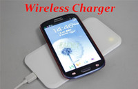 Wholesale Galaxy S4 Chargers - 100pcs lot*QI Standard Wireless Charging Pad Plate Wireless Charger for Samsung Galaxy S6 S5 S3 S4 Note 5 4 3 2 For LG Google
