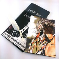 Wholesale Animation surrounding cosplay props death death note notebook A4 large quill Poster Set