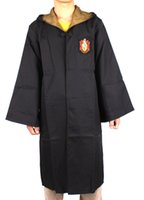 NUOVO adulto Harry Potter Cosplay Badger Hufflepuff uniformi scolastiche Mantello per festa per halloween