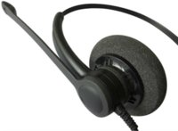 Wholesale Earphone Call Center - Free Shipping call center headset Professional Anti-noise Telephone headset RJ09 Plug headset office headphones earphone