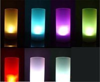 Décoration de mariage LED Light Blow Sensible Candle Design LED Night Light Accueil Party Wedding Decoration Night light Induction Creative Candl