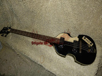 Wholesale musical instruments violins resale online - black Strings Violin Bass New Arrival OEM Musical instruments