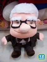 Wholesale Pixar Up Toy - Wholesale-Pixar Movie UP Carl Fredricksen Grandpa Carl Plush Toy Russell Soft Doll