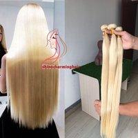 12 pc brazilian saç toptan satış-# 613 Sarışın İnsan Saç 3 Demetleri ipeksi düz Perulu Bakire Saç Uzantıları 10A Brezilyalı Saç Örgü Demetleri 3 Adet