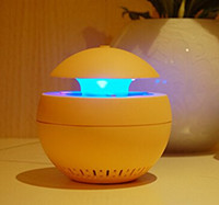 Wholesale Red Mosquitoes - aromatherapy mosquito killer lamp mosquito zapper trapper repellent USB LED night Light CE RoHs 5-color