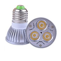 Wholesale CREE W led spotlights E27 GU10 GU5 MR16 E26 AC85 V DC12V led downlight Warm white Cool white led home lighting