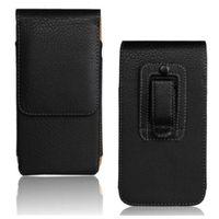 huawei honor para la venta al por mayor-La funda con protector para cinturón de piel para hombre de Hot Sales cubre para Huawei Honor 4X (5.5