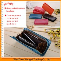 Wholesale Order Lady Purse - Free Shipping High Quality Fashionable Simple Ladies' Women's PU Leather Clutch Bag Lady Long Handbag Wallet Purse order<$18no track