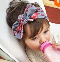 nuevo estilo accesorios para el cabello al por mayor-2016 NUEVO 9 ESTILO! Bebé niños niña flor arco Hairband turbante nudo conejo diadema Headwear bebé arco accesorios para el cabello VENTA CALIENTE 10 unids /