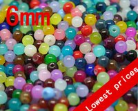 Wholesale Mixed Glass Pearls 8mm - Wholesale-(NO.168---NO.174) 50 Pcs Round Ball Loose Glass Pearl AAA 6mm Bead Mixed For 4mm.6mm.8mm.10mm ( Wholesale ) Free Shipping
