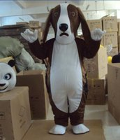 Wholesale Dog Costume Dachshund - Big Ears Basset Dog Mascot dachshund Dog Costumes Mascot Costume April Fool's Day Mascot Fancy Dress Adult Size