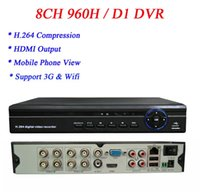 UK 8ch d1 dvr hdmi output - Free shipping D1 Recording H.264 1080P 960H 8CH HDMI VGA Video Output 8CH Audio In DVR with 3g Wifi