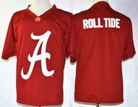 Wholesale Cheap Blue Roll - Factory Outlet- Alabama Crimson Tide Roll Tide Team Pride Fashion Crimson,NCAA College Football Jerseys,2015-2016 New Style Mens Cheap Jerse