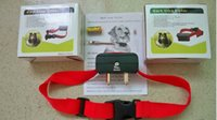 Wholesale Dog Voice Collar - pet Voice control ELECTRONIC AUTO Small Medium Anti No Bark Dog Training Shock Collar bark stop collar 200pcs lot