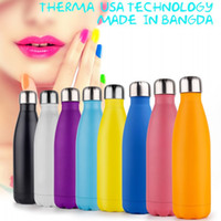 Wholesale Vacuum Preservation - Cola Water Bottles Heat Preservation Vacuum Cup For Outdoor Bicycle Sports Thermal Insulation Stainless Steel Bottle Multicolor 20fn C