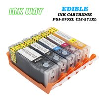 Wholesale Pixma Printers - INKWAY PGI-270 CLI-271 Edible Ink Cartridge Replacement 5 pack for use with PIXMA MG5720 MG5721 MG5722 MG6820 MG6821 MG6822 Cake Printer
