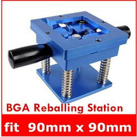 Wholesale The Best Quality Reballing BGA Station with Handle mm x mm Stencils Template Holder Jig top sale drop shipping