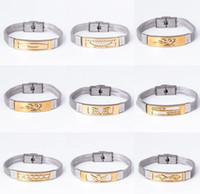 Wholesale Fishing Snow - Fashionable Design Men Woman Steel belt Bracelet alloy snow Small fish love silver bracelets 16 style for best gift aa609