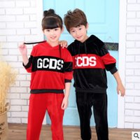 Wholesale Primary Secondary - Boys and Girls School Uniforms Clothing Set 2017 Autumn Children 's Class Uniforms Primary and Secondary School Students ly454