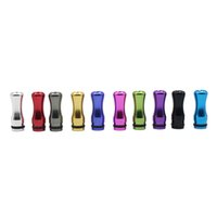 Wholesale Dct Cartomizers - Colorful Aluminium Material 510 Drip Tip for 510 DCT Vivi Nova Cartomizers E Cigarette