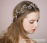 Trend New Ms Ruban Cheveux Bijoux Mariage Mariée Prom Femmes Crystal Rhinestone Headband Couronnes Accessoires pour cheveux Tiara Hair Jewelry