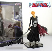 bleach gift boxes - EMS Shipping Cool quot Bleach Kurosaki Ichigo Boxed cm PVC Action Figure Collection Model Toy Gift