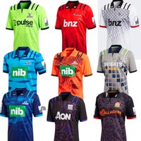 Wholesale Men Mixed Shirt - mixed order 2017 2018 Commemorative Edition New Zealand Warriors Chiefs Blues rugby jersey 17 18 crusader Highlander hurricane rugby shirts