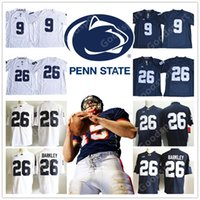 Wholesale Lions Shirt Xl - NCAA Penn State Nittany Lions COLLEGE 9 Trace McSorley 26 Saquon Barkley Jersey Sport Men Present HOT Shirt STITCHED FOOTBALL