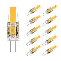 ac led lichtleiste großhandel-G4 LED Birne Bi-Pin COB AC / DC 12 Volt Landschaftslicht 2 Watt (entspricht 20 Watt G4 Halogenlampe), 2700K 210LM Warmweiß
