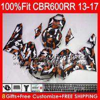 Wholesale honda c for sale - Group buy Injection For RR CBR NO7 CB RR C uflage orange CBR600RR Fairing