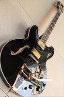 Wholesale Electric Guitar Best Oem - 20130109 best china Jazz guitar Custom Shop 355 Electric Guitar top quality 1959 OEM Musical Instruments in black 130109