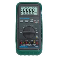 Wholesale Lcd Volt Amp Display - MASTECH MY68 Handheld Digital Multimeter LCD Display Multimetro AC DC Volt Amp Ohm Frequency Capacitance Transistor Test