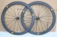 Wholesale Carbon Road Bike Wheels 25mm - Super light 25mm width U shape carbon wheels,50mm carbon clincher wheelset 700c full carbon wheels with novatec A291SB F482SB hubs