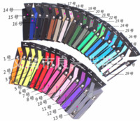 Correas causales Moda Suspenders Causal correas para niños Moda para los niños Womens Mens Candy Color y elástico Suspenders Hot correas 160