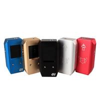 e sigaralar mods vv vw toptan satış-Son çıkan GI2 Kutusu Mod GI2 Mod GI2 100 W TFT Renkli Ekran Mekanik Mod 100 Watt Mod VV VW E Sigara Mod için 18650 Pil