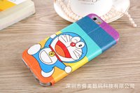 Wholesale Cheap Cute Cases For Iphone - high quality cheap cartoon cute leather fitted phone cases for iphone 6